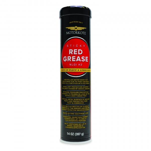 MOTORKOTE STICKY RED GREASE NLGI 397 GR