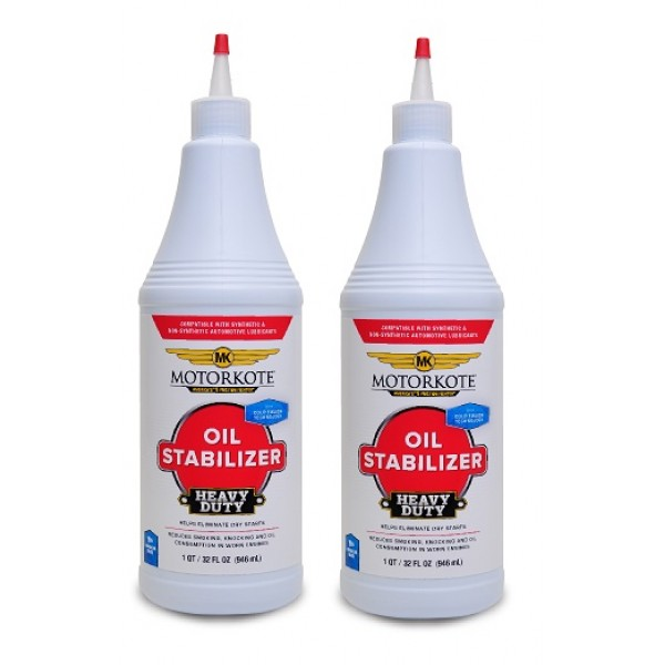 MOTORKOTE HEAVY DUTY OIL STABILIZER 2 X 946 ML